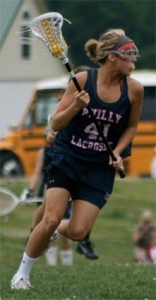 West Chester East senior midfielder Steph Lobb has committed to North Carolina