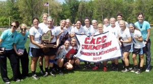 Holy Family won the CACC championship with a 15-10 victory Sunday over host Georgian Court