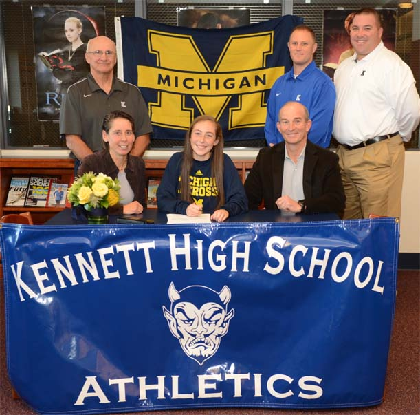 National Letter Of Intent Signing: Kennett'S Duphily Chooses