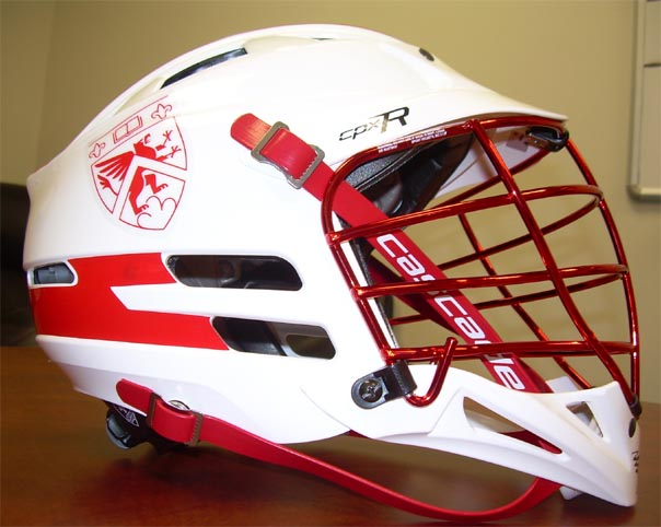 Cascade CPX-R Red Chrome Facemasks