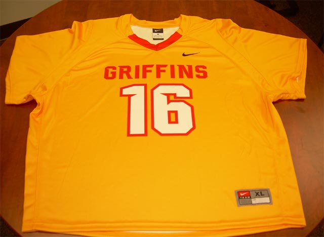 Sublimated Nike Vapor Elite shirt