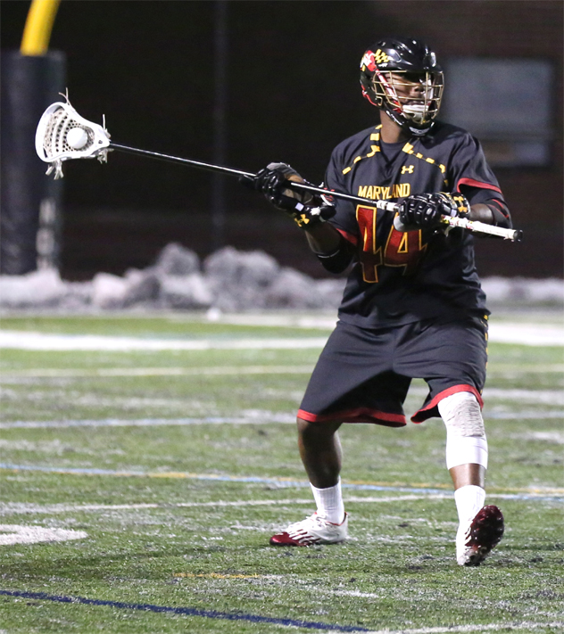 Maryland defenseman Goran Murray (Haverford School) Photo by Rene Schleicher