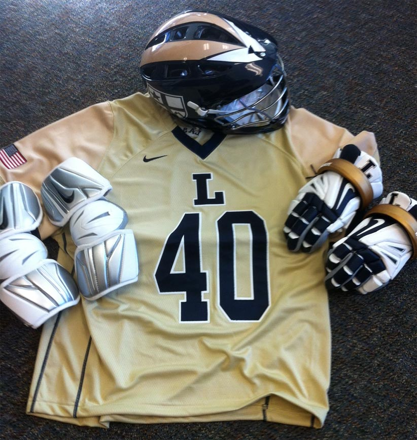La Salle's Nike SWOOSH J uniforms and Cascade helmet