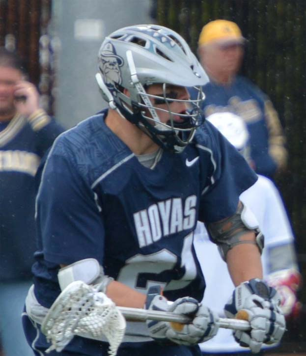 Georgetown midfielder Billy Flatley (Conestoga) looks to get his team into the finals