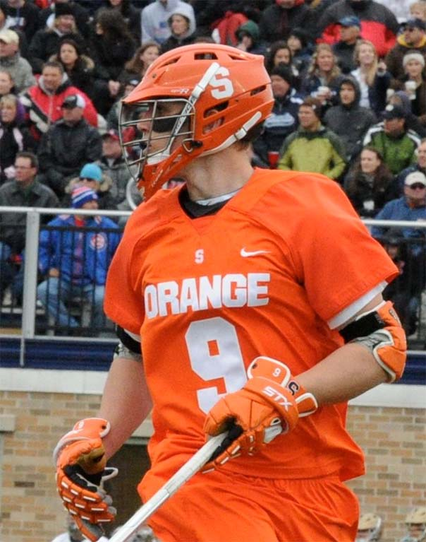 Syracuse midfielder Matt Walters (Haverford School) is a key EMO weapon