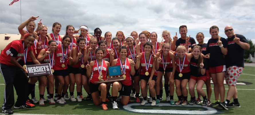 Harriton celebrates the PIAA title