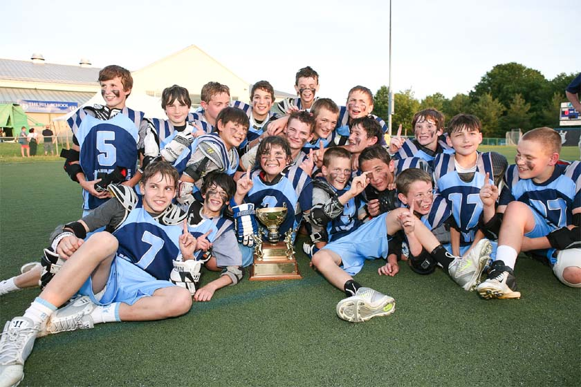 Lionville won the CCLA U13 championship with a 15-0 record
