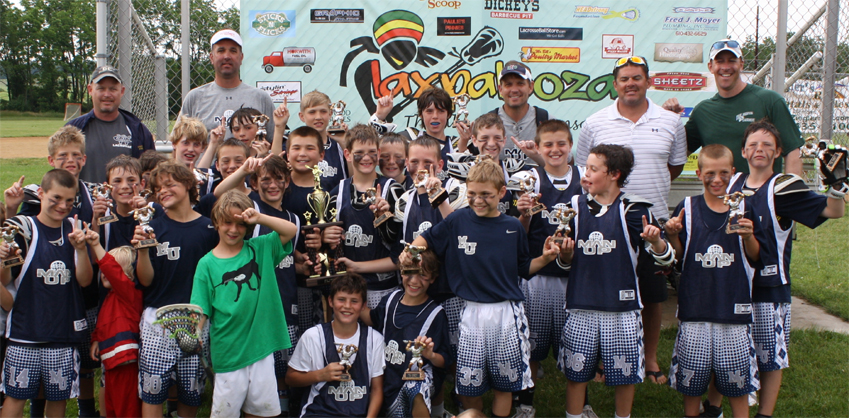 Man Up won the U11 title at the Laxpalooza