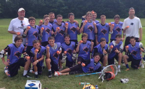 Black Bear U13 won its bracket championship at the Patriot Games