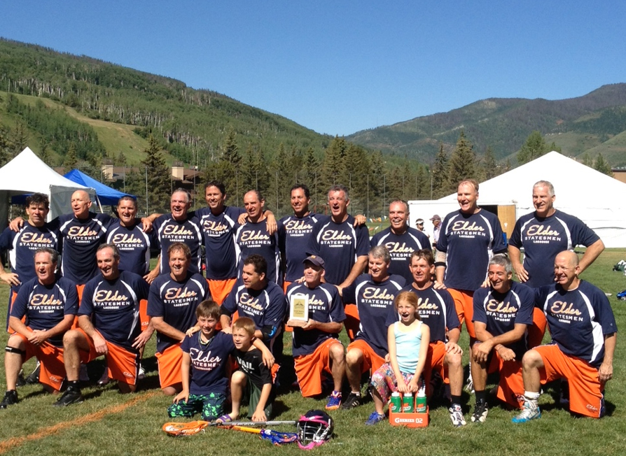 The Elder Statesmen won the Grandmasters title at the Vail Shootout