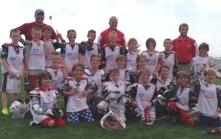 Freedom U9 win the U9A title at Hogan Hershey. In the Picture Coaches Back Row L-R Marc Driggs, Mike Kolinsky, Joe Horvath. Back Row, L-R, Max, Robinson, Michael Straub, Connor Jung, Aiden McFalls, Liam Blakely, Hudson Zawadzkas, William Cody, Caelen Driggs, Caleb Wilson, Alyster Hemberger, Bottom row (kneeling),  L-R, Josh Devine, Griffin Mcgovern, Bryson Kolinsky, Jacob Nolan, Zach Hulme, Matt Zincone, Bo Horvath, Dylan O'Connor,  Brady Mitchell, Carter Deves, and Kyle Anthony.