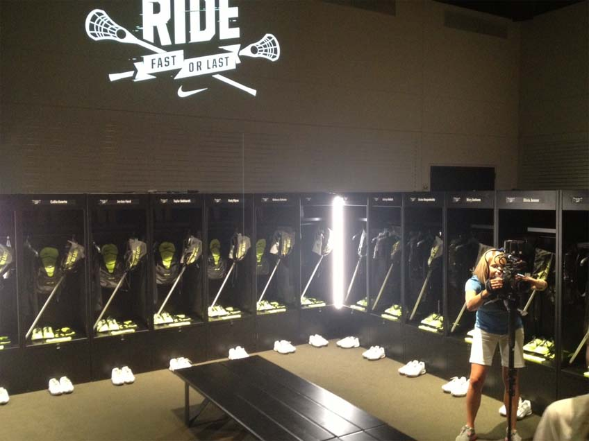 Nike Locker room