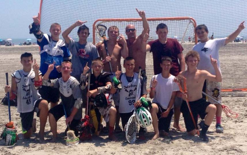 Interboro won the Morey's Piers Beach championship (U15) for the second time