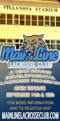 Main Line Lacrosse 2013