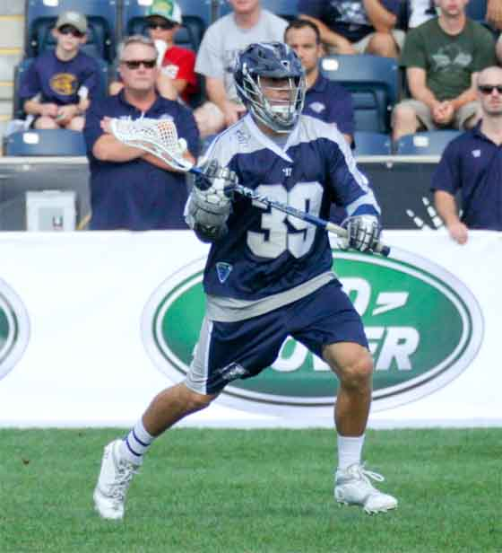 Chesapeake's Matt Mackrides (Malvern Prep) had an assist in the victory (Photo by Rene Schleicher)