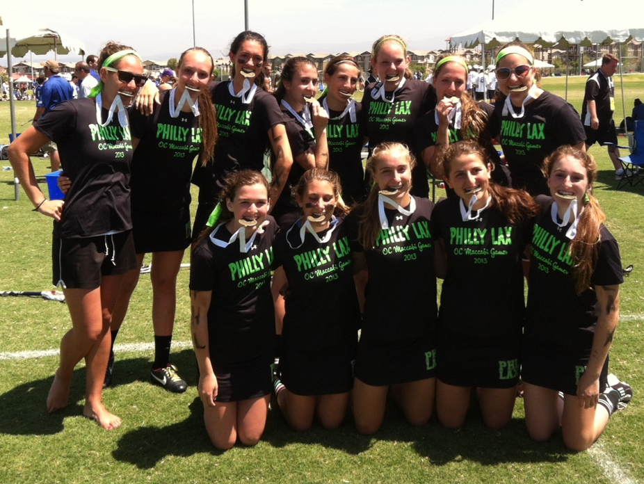 The Philly girls won gold at the JCC Maccabi Games in Orange County