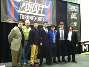 Wings 2013 NLL Draft