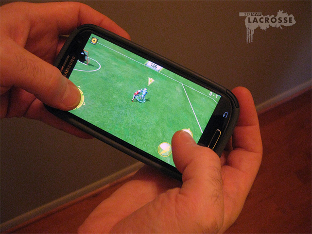 3D MVP lacrosse - Android shot