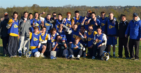 Cougars Lax won the Brian Houshower Varsity championship