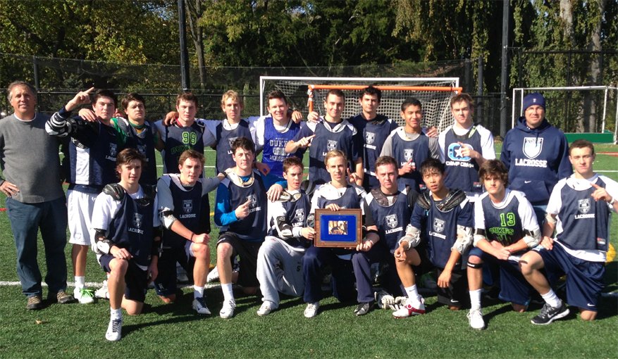 EA wins Basic Training Lax title