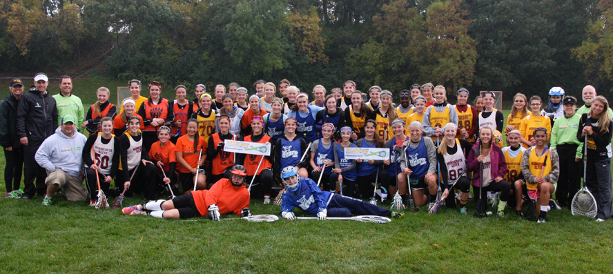 The HEADstrong Foundation's Face-Off To Fight Blood Cancer event in Minnesota drew 60 girls' players (shown here) and 12 boys' teams