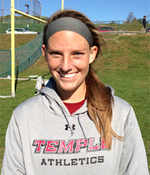 Temple's Jaymie Tabor (Downingtown East)