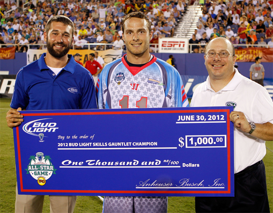 Joel White (center) has been named the 2014 spokesperson for the HEADstrong Foundation. (Photo courtesy of HEADstrong)