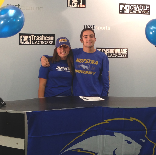 Wissahickon's Luke & Zoe Gomez signed with Hofstra