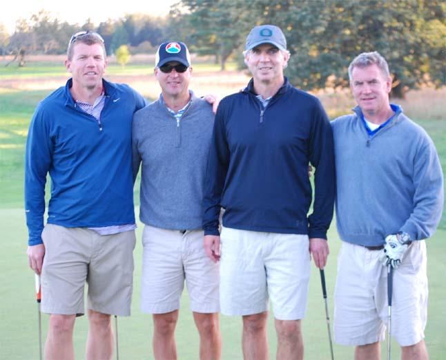 Mike McGuane, Paul O'Grady, John Beiger, John McEvoy
