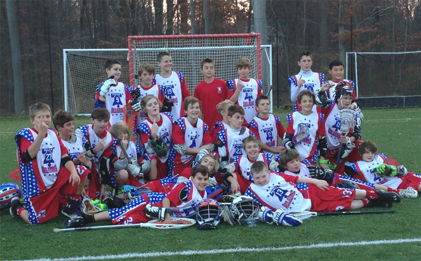 The U11 All-Stars went 3-0 at the Fall Brawl