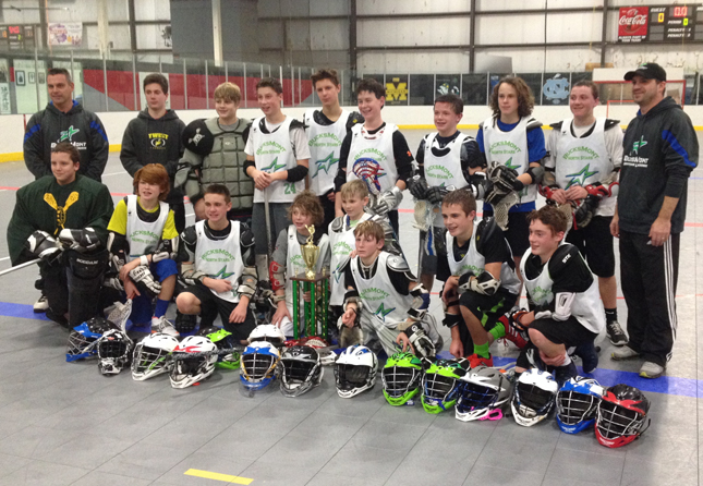 The Bucksmont North Stars won the 7th/8th grade title at the Fusion Winter Classic Box Tournament