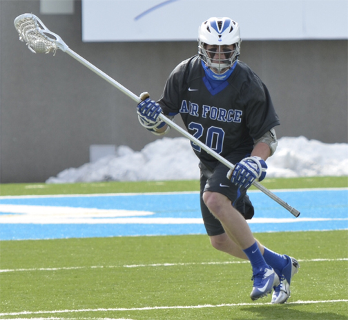 Air Force defenseman Eric Warden (Garnet Valley) - Photo special to Phillylacrosse.com