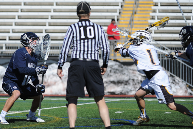 Towson's Max Siskind (Henderson) helped the Tigers win Saturday