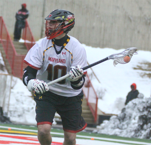 Maryland attackman Tyler Brooke (Conestoga) - Photo by Rene Schleicher