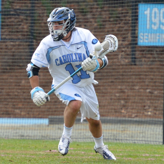 North Carolina junior attackman Joey Sankey (Penn Charter)
