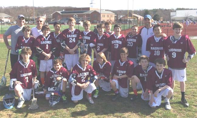 Radnor's U13 team was one of 45 squads that competed Saturday at Evanfest