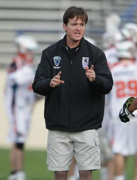 Coach Tom Slate, while serving as head coach previously at San Francisco