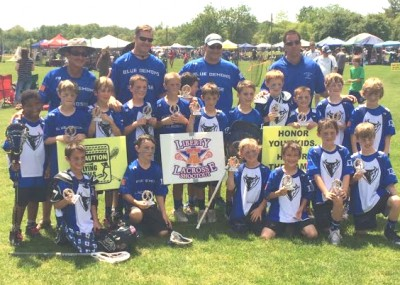 Liberty Shootout U9 champion Kennett Square