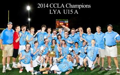 CCLA U15A champion LYA