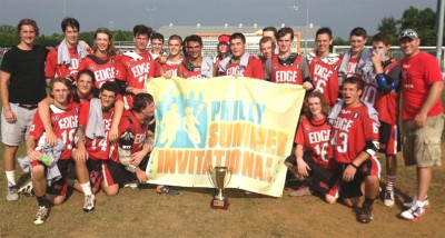 Edge wins 2017 title at Philly Summer Invitational