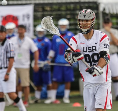 Paul Rabil will lead USA vs. England (Photo by John Flickinger)