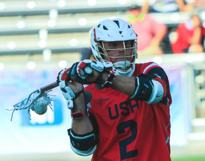USA's Brendan Mundorf during Thursday's win over Australia (Photo by John Flickinger)