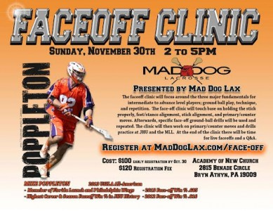 Faceoff Clinic