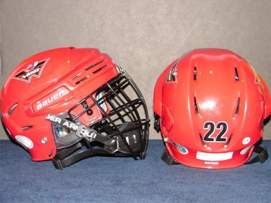 Jr. Wings helmets by Team 22, Under Armour