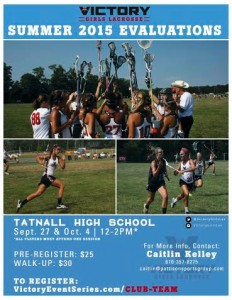 Victory girls summer evals flyer