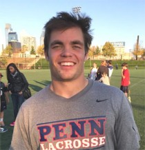 Penn senior FO/MF Joe McCallion