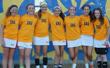 Mesa champions: L to R: Eloise Gebert, Haley Klinger, Emee Bucher, Olivia Dirks, Isabelle Rohr, Sydney Sweeney, Camellia Gowen