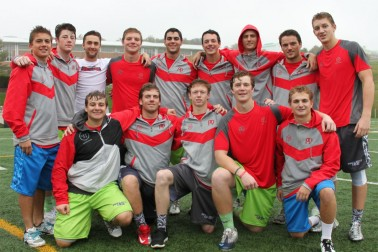 PA players at Project9:  bottom (l to R) Mike Marchese, Sean McGovern, Zach Ward, Patrick Lyons, Sam Gindhart. Top row (l to R) Grant Ament, Curtis Zappala, Luke Desperito, Zach Drake, Jack Reilly, Ryan McNulty, Dustin Buchanan, Mike Eveland, and Connor Davis