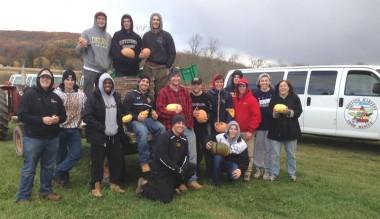 DelVal Men's Lacrosse community Service