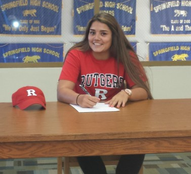 Emily signs to play for Rutgers